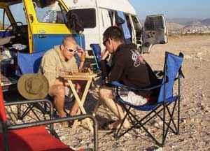 Caravan Camp in Marokko 1