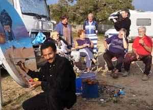Caravan Camp in Marokko 2