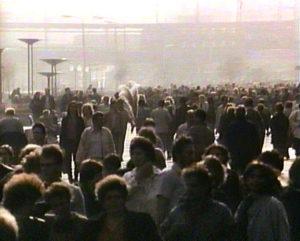 Wende '89 Menschenmassen