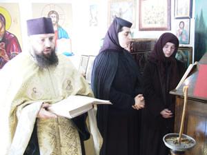 Bergkloster in den Karpaten