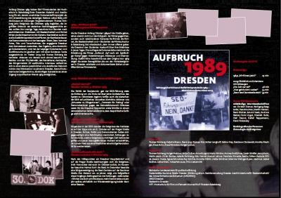DVD Aufbruch '89 hinten